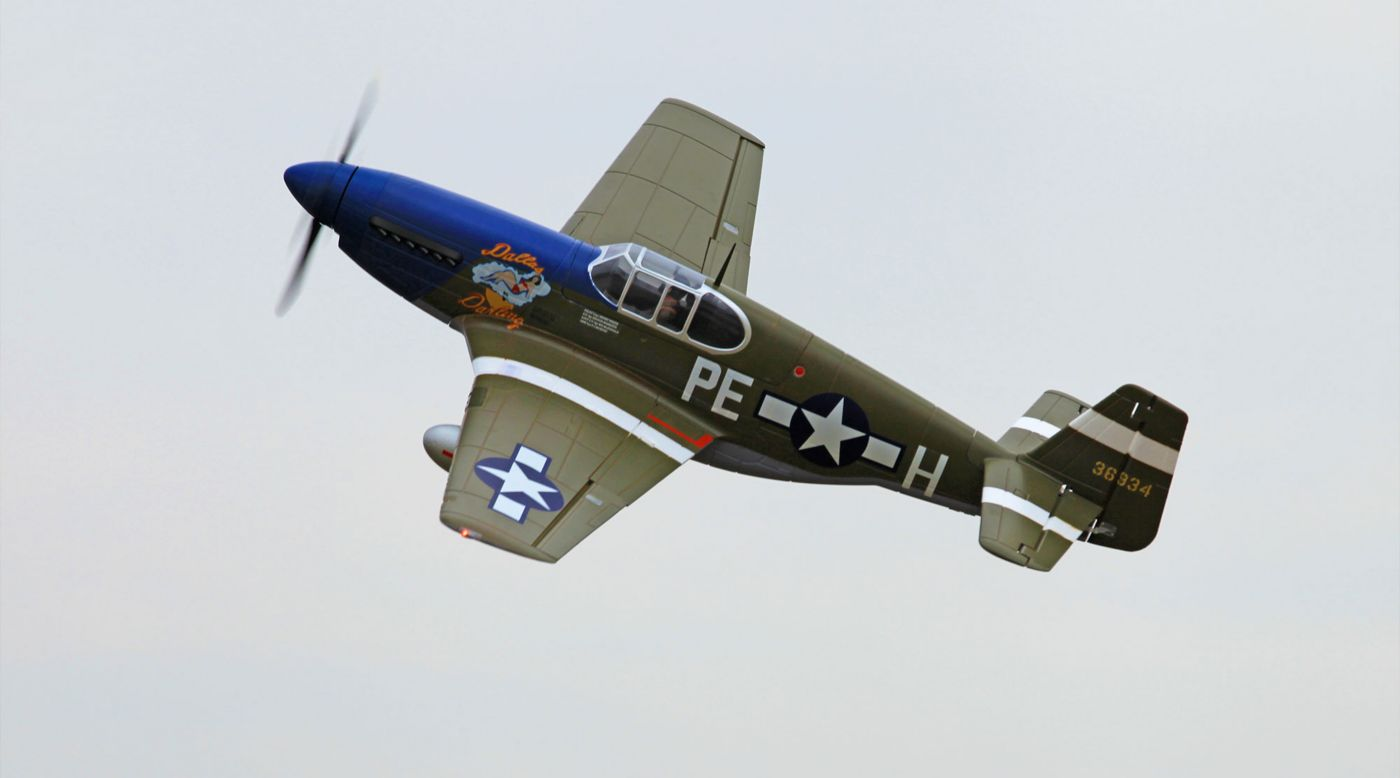Image for P-51B Dallas Darling PNP, 1450mm from HorizonHobby