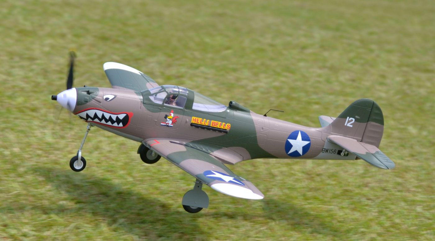 Image for P-39 Hells Bells PNP, 980mm: Camo from HorizonHobby