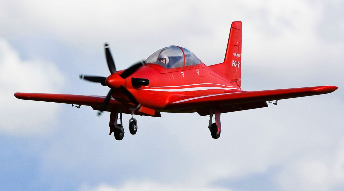Image for Pilatus PC-21 PNP, 1100mm from HorizonHobby