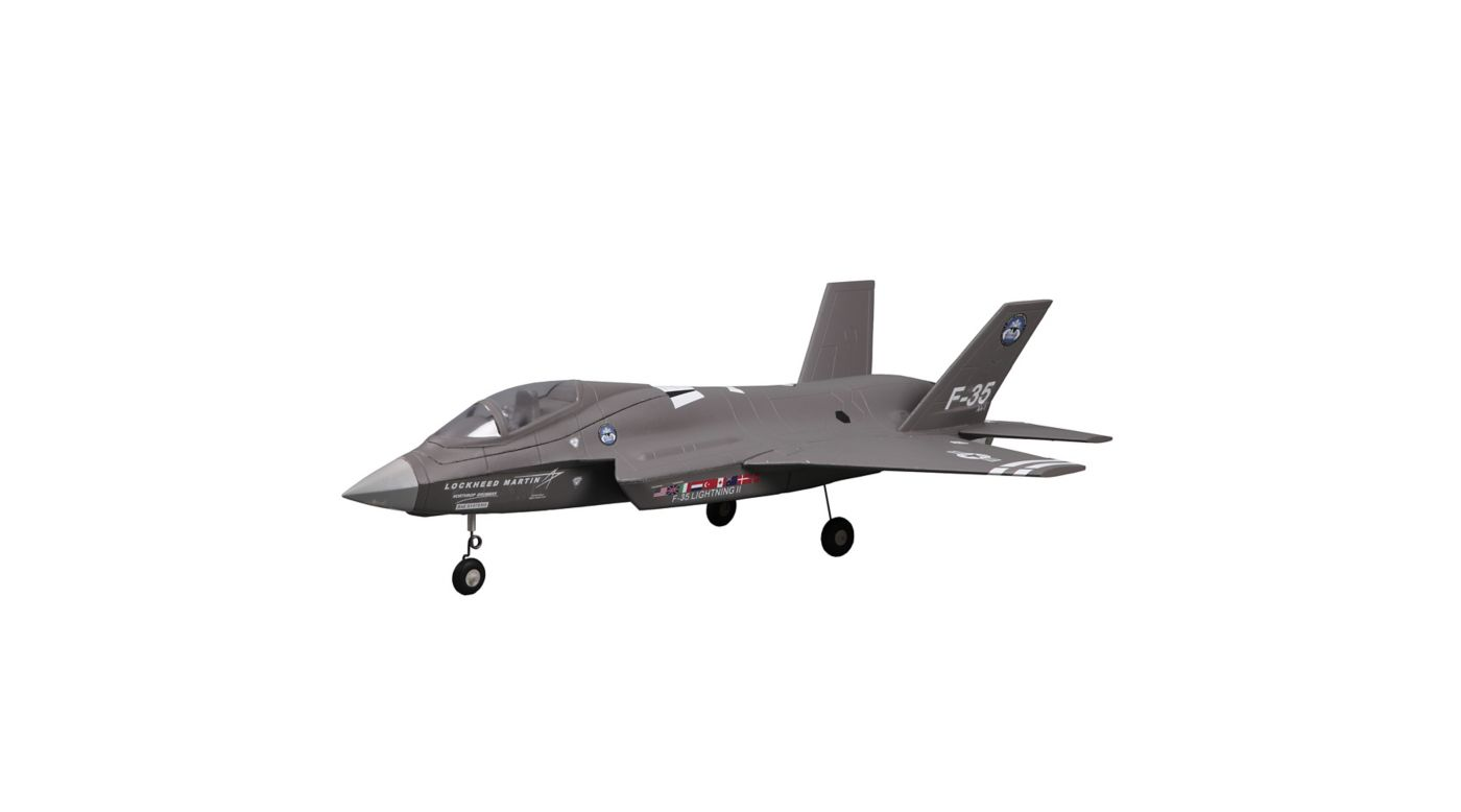 Image for F-35 V2 PNP, 64mm EDF Jet: Gray from HorizonHobby
