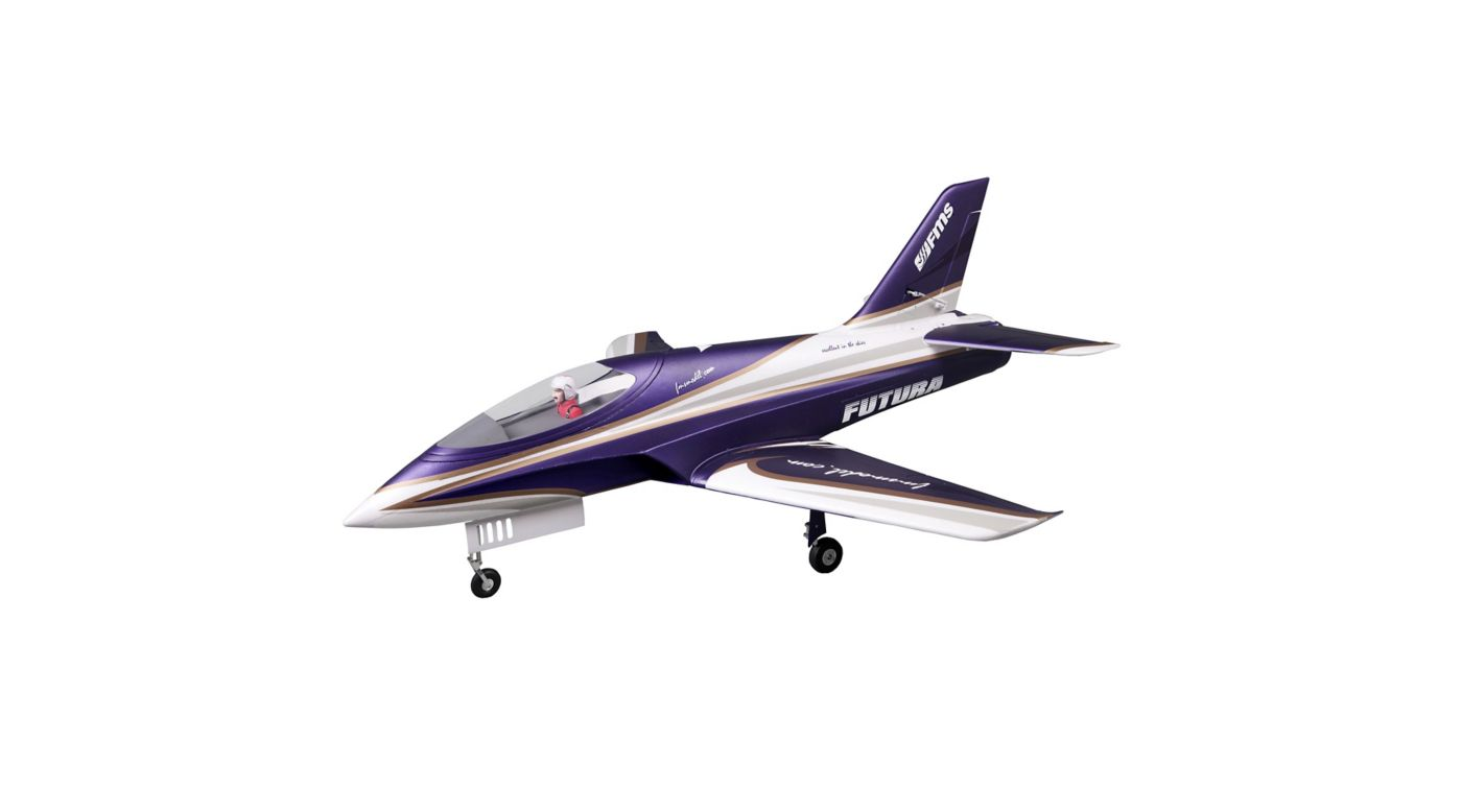 Image for Futura PNP, 80mm EDF Jet: Purple from HorizonHobby