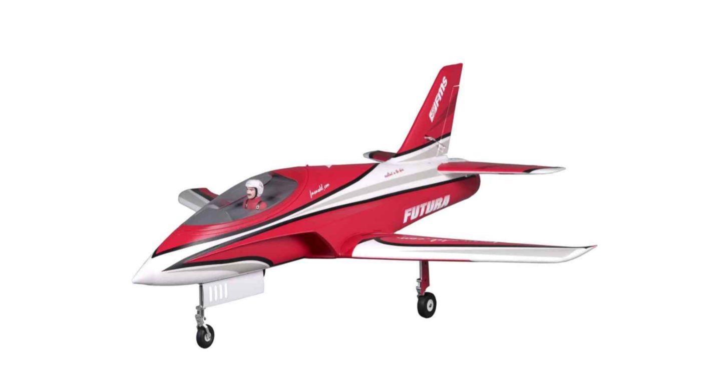 Image for Futura PNP, 80mm EDF Jet: Red from Horizon Hobby