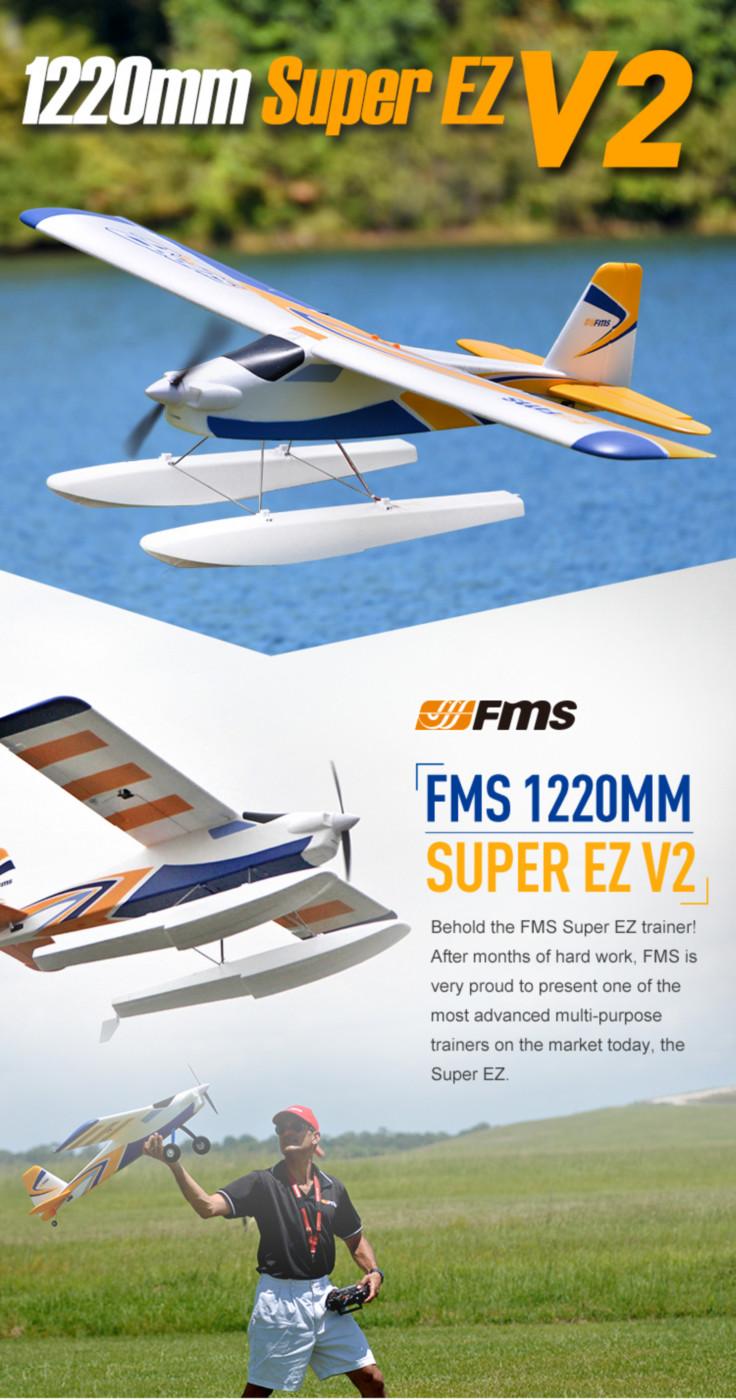 FMS Super EZ RC Aiplane