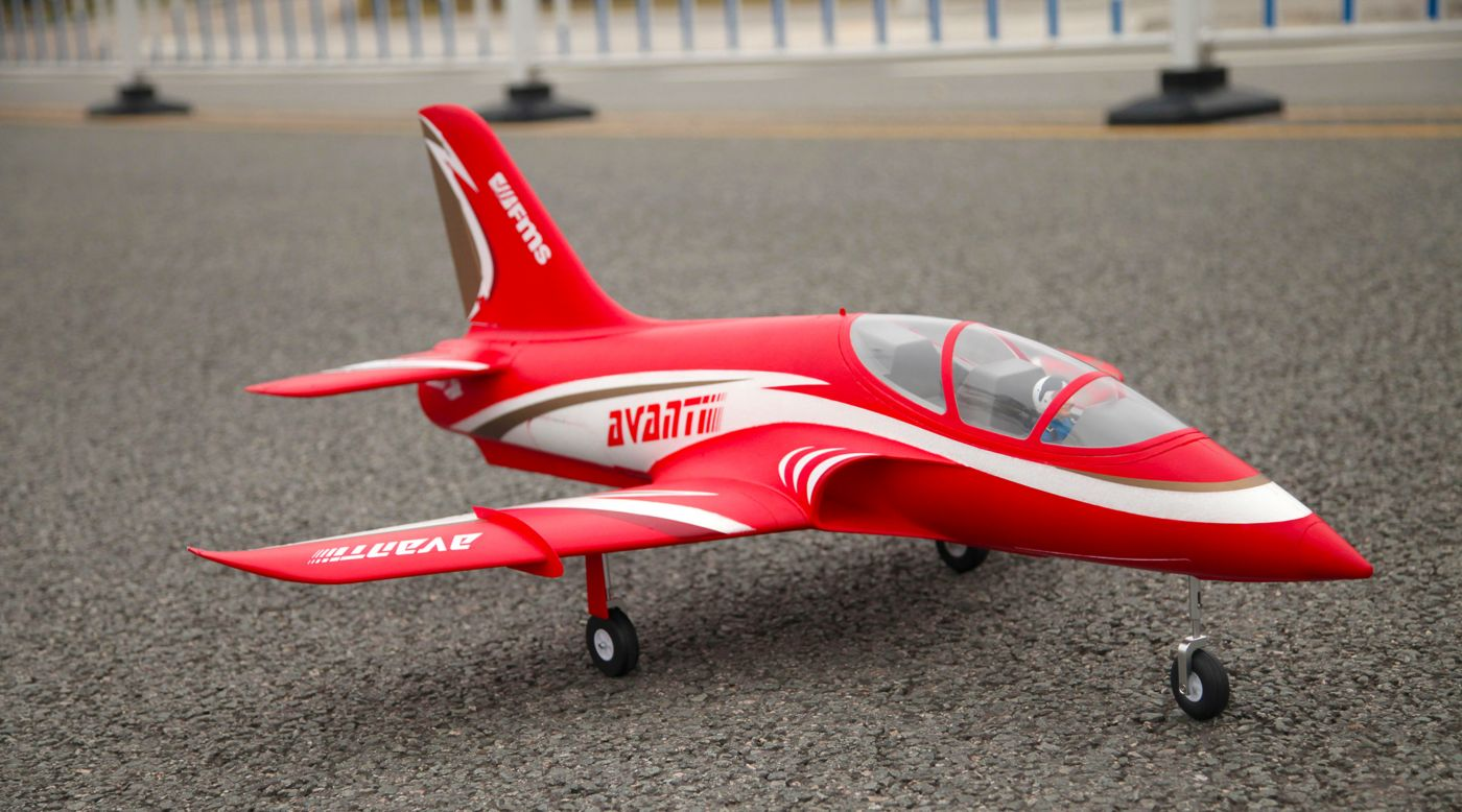 Image for Avanti PNP, 70mm EDF: Red from HorizonHobby