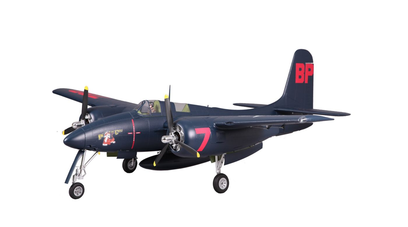 Image for F7F Tigercat 1700mm Blue PNP from HorizonHobby