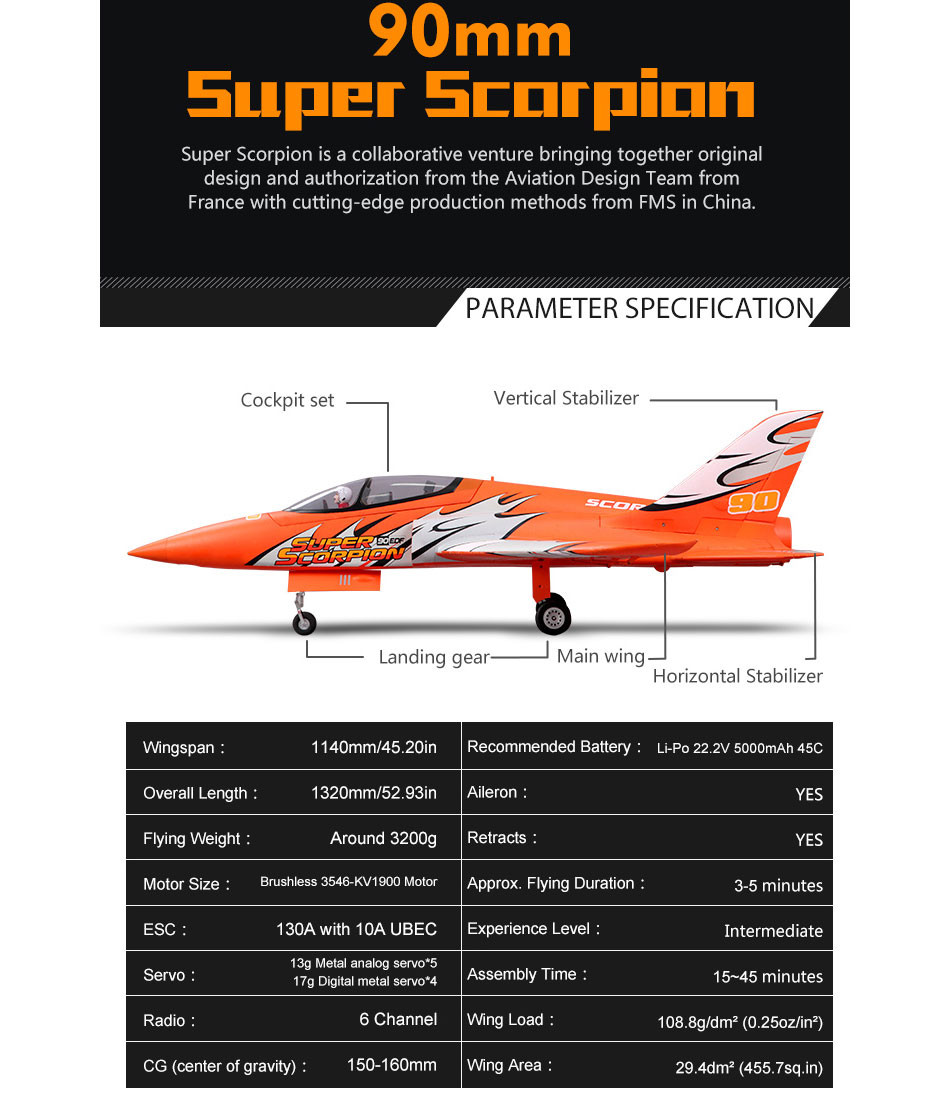 FMS Super Scorpion