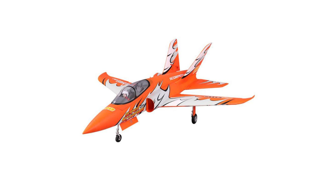 Image for Super Scorpion PNP, 90mm EDF Jet from HorizonHobby