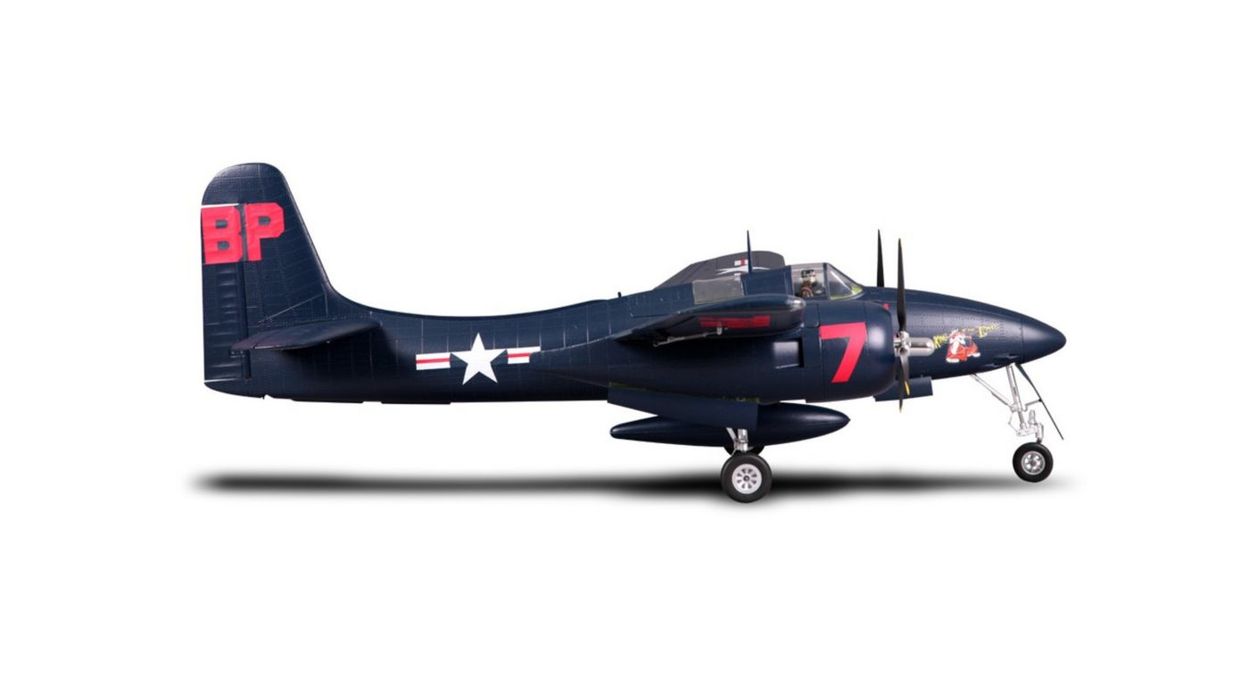Image for F7F Tigercat 1700mm PNP, Blue from HorizonHobby