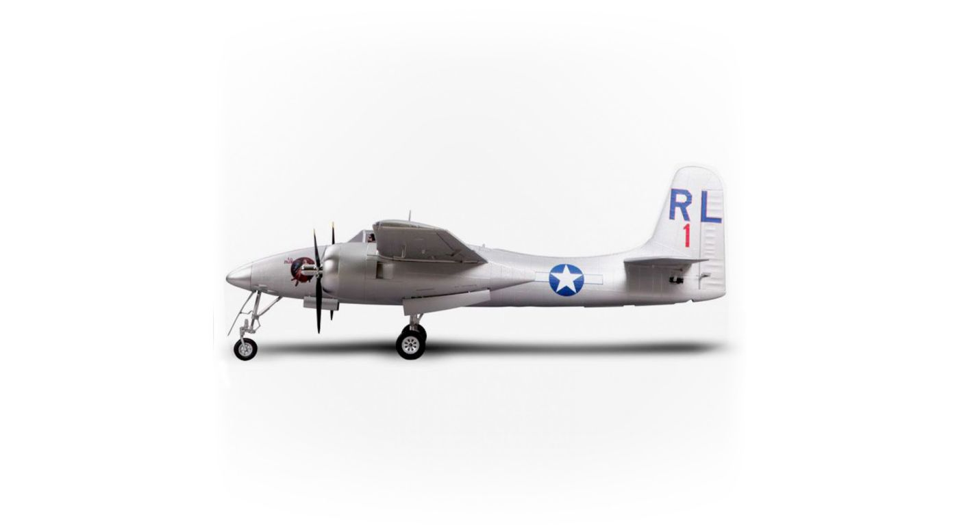 Image for F7F Tigercat PNP, 1700mm: Silver from HorizonHobby