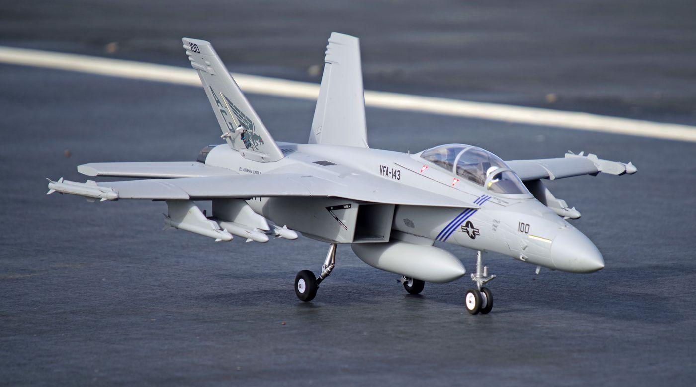 Image for F-18F 70mm EDF V2 PNP from HorizonHobby
