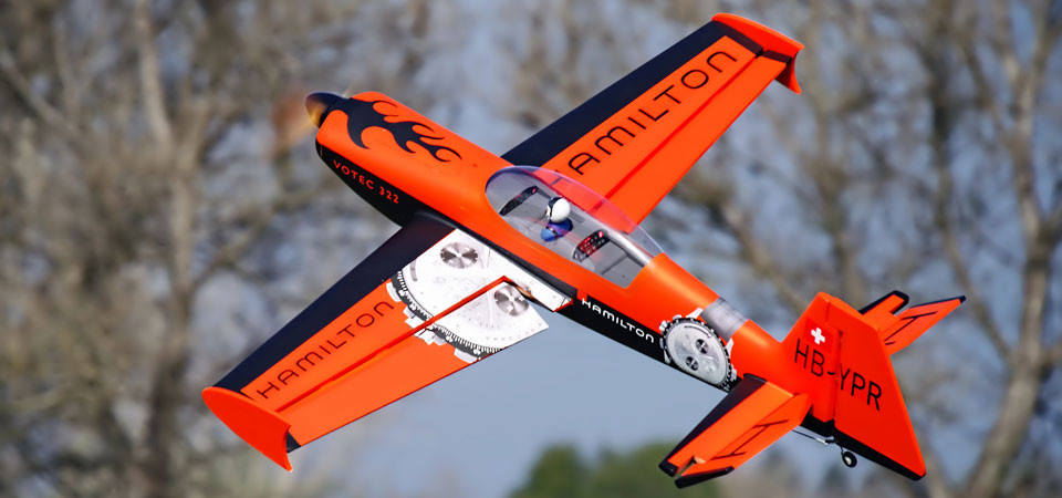 FMS Votec 322 PNP RC Airplane