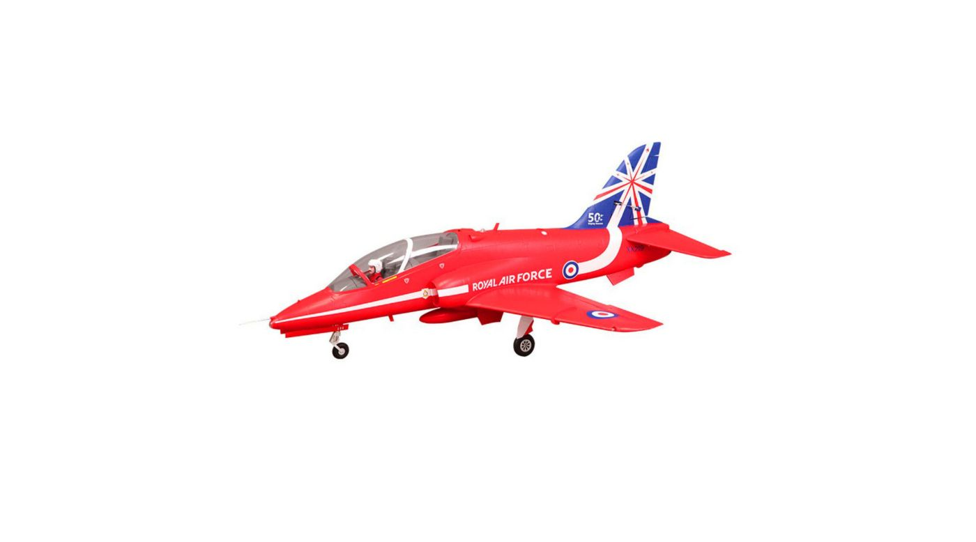 Image for BAE Hawk Red Arrow 80mm EDF PNP from HorizonHobby