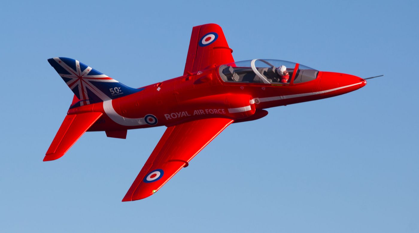 Image for BAE Hawk Red Arrow 80mm EDF PNP from Horizon Hobby