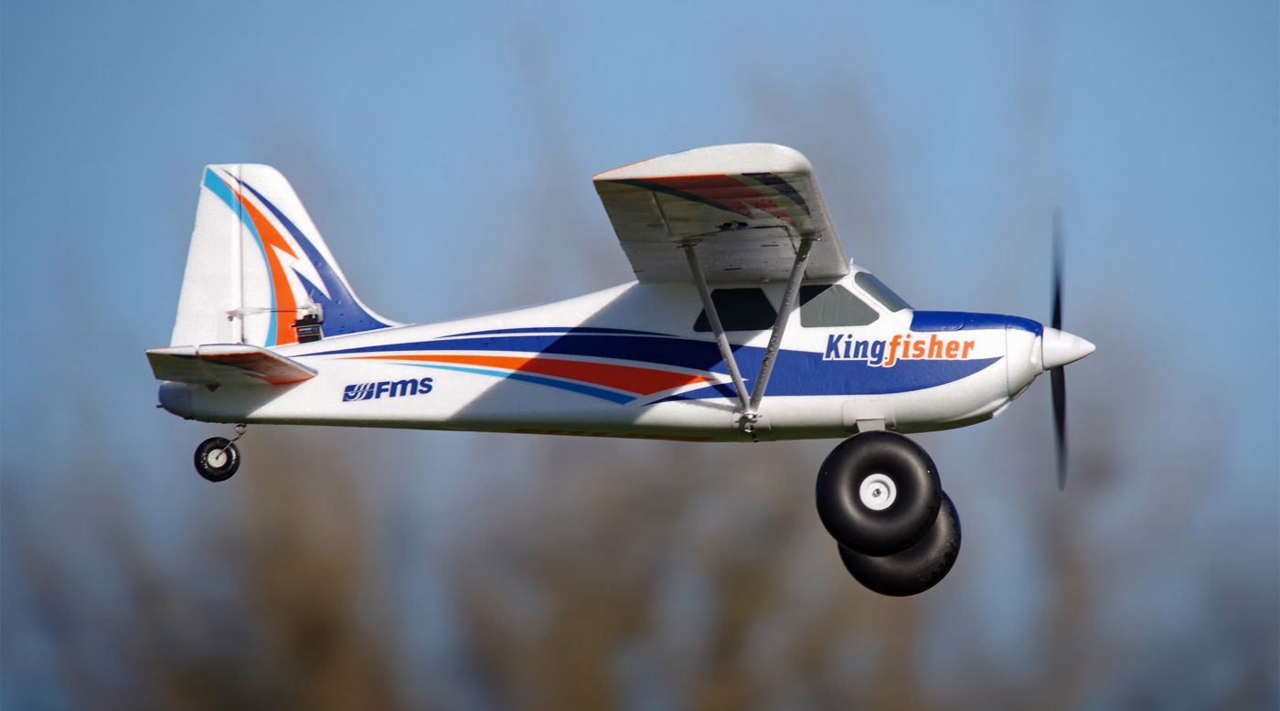 Image for Kingfisher PNP, 1400mm with Wheels, Floats, Skis and Flaps from HorizonHobby
