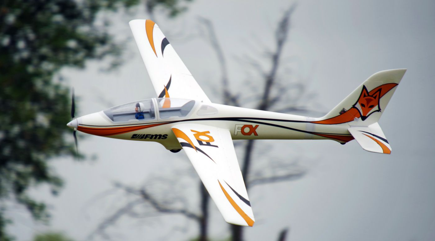 Image for Fox 3000mm Aerobatic EP Glider PNP from HorizonHobby