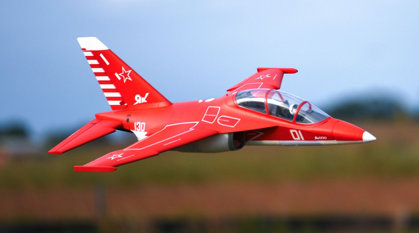 Image for YAK-130 Jet 70mm EDF V2 PNP, Red from HorizonHobby