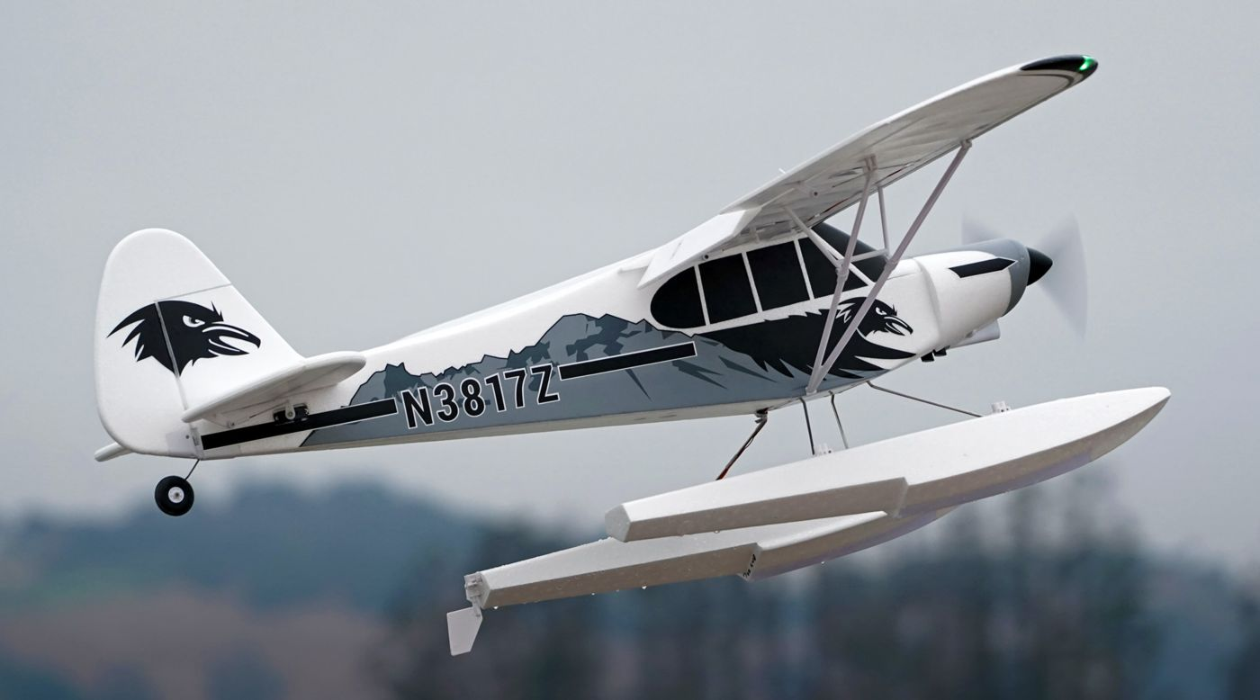 Image for PA-18 Super Cub 1700mm EP PNP with Floats from HorizonHobby