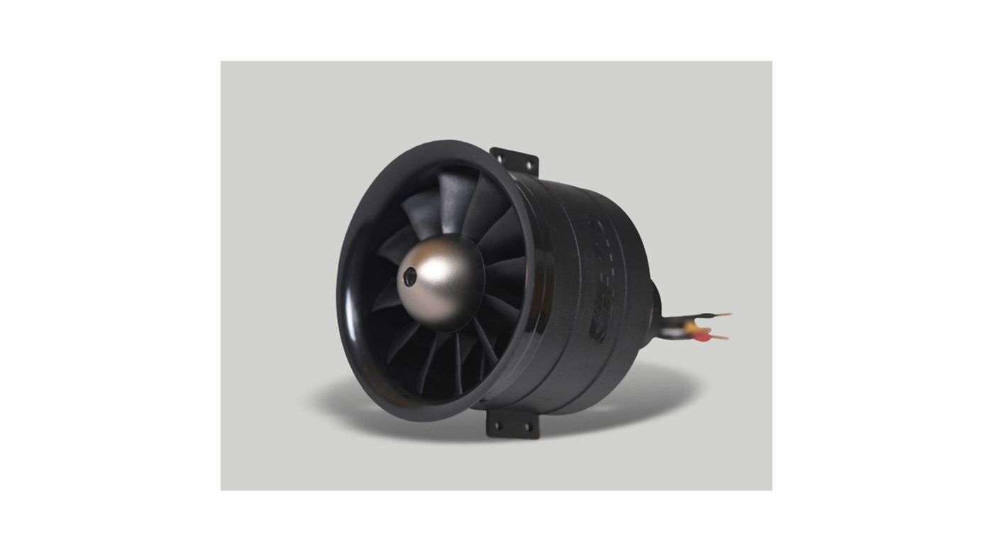 Image for 12 Blade Ducted Fan, 80mm from HorizonHobby