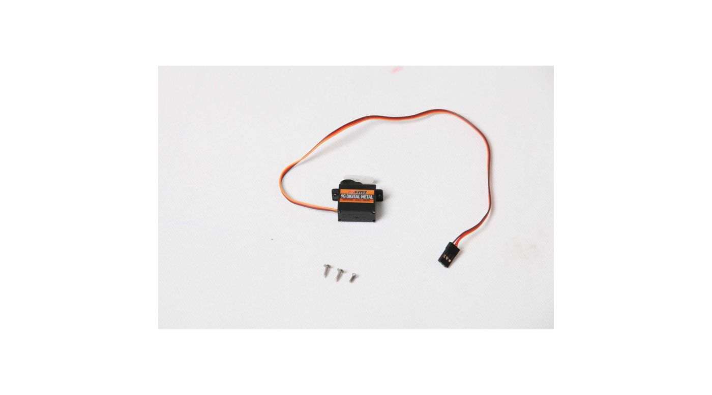 Image for 9g Servo, Digital Metal Gear Positive from HorizonHobby