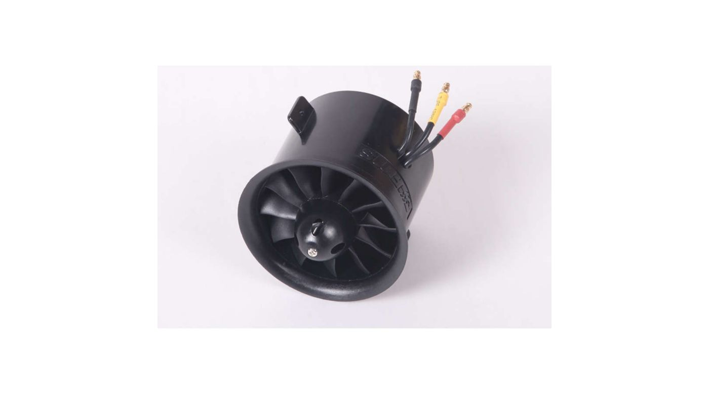 Image for 12-Blade Ducted Fan with Motor, 70mm from HorizonHobby