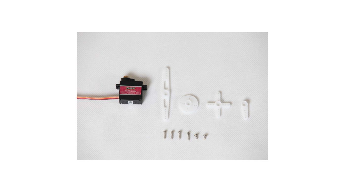 Image for 13g analog metal gear servo rev: Super Scorpion 90mm from HorizonHobby