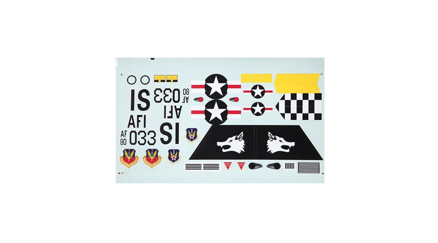 Image for Decal Sheet: F15 V2 from HorizonHobby