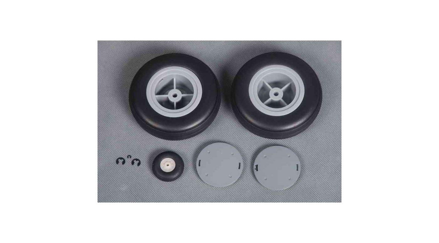 Image for Tire Set  P-40B 1400mm from HorizonHobby
