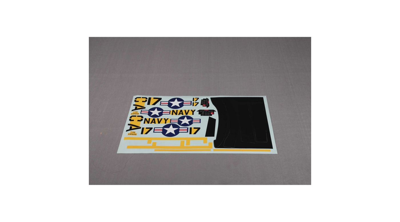 Image for Decals: T28 V4 1400mm, Yellow from HorizonHobby