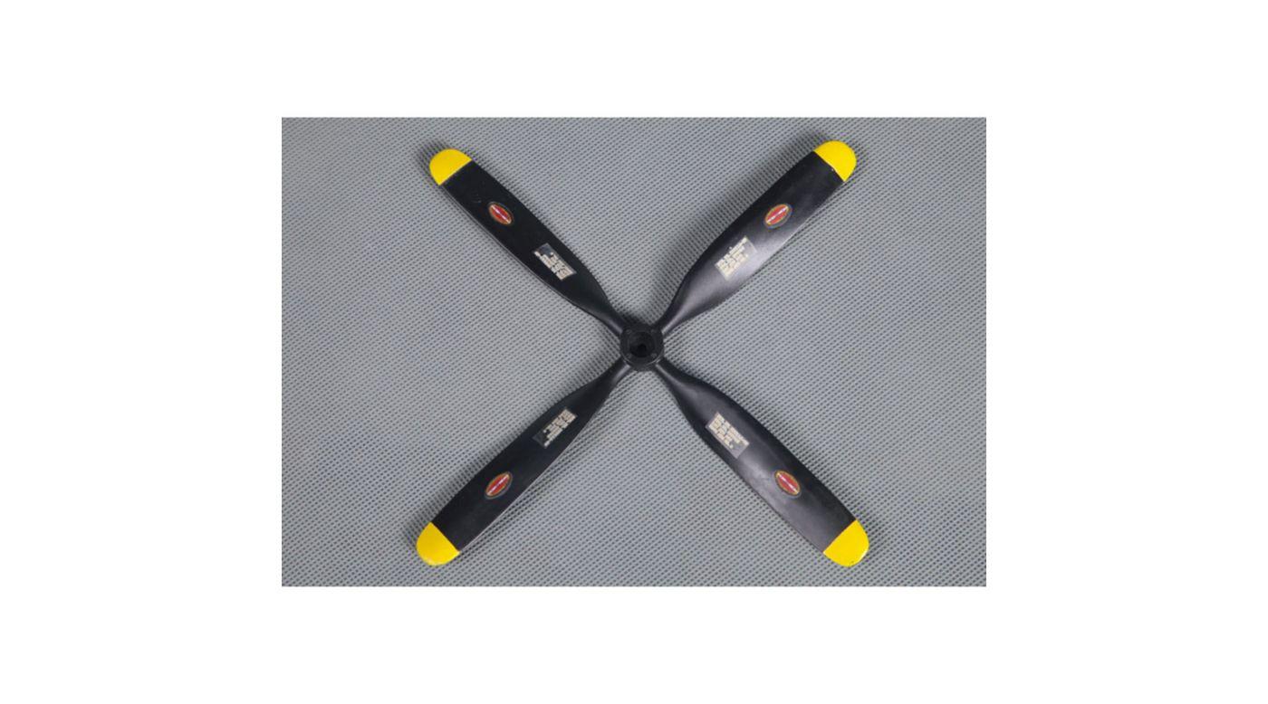 Image for Propeller, 7x5.4, 4-Blade: 800mm P51 V2 from HorizonHobby