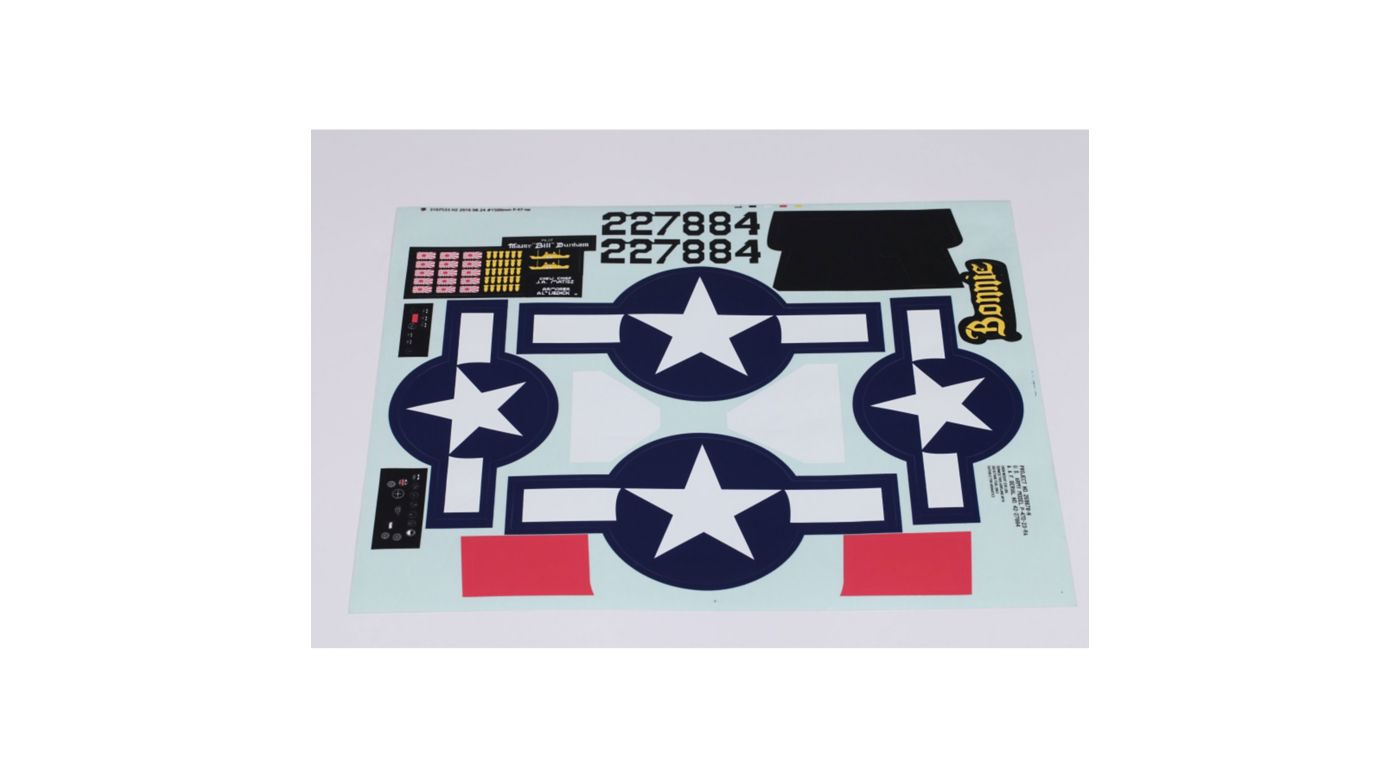 Image for Decal Sheet: P-47, 1500mm from HorizonHobby