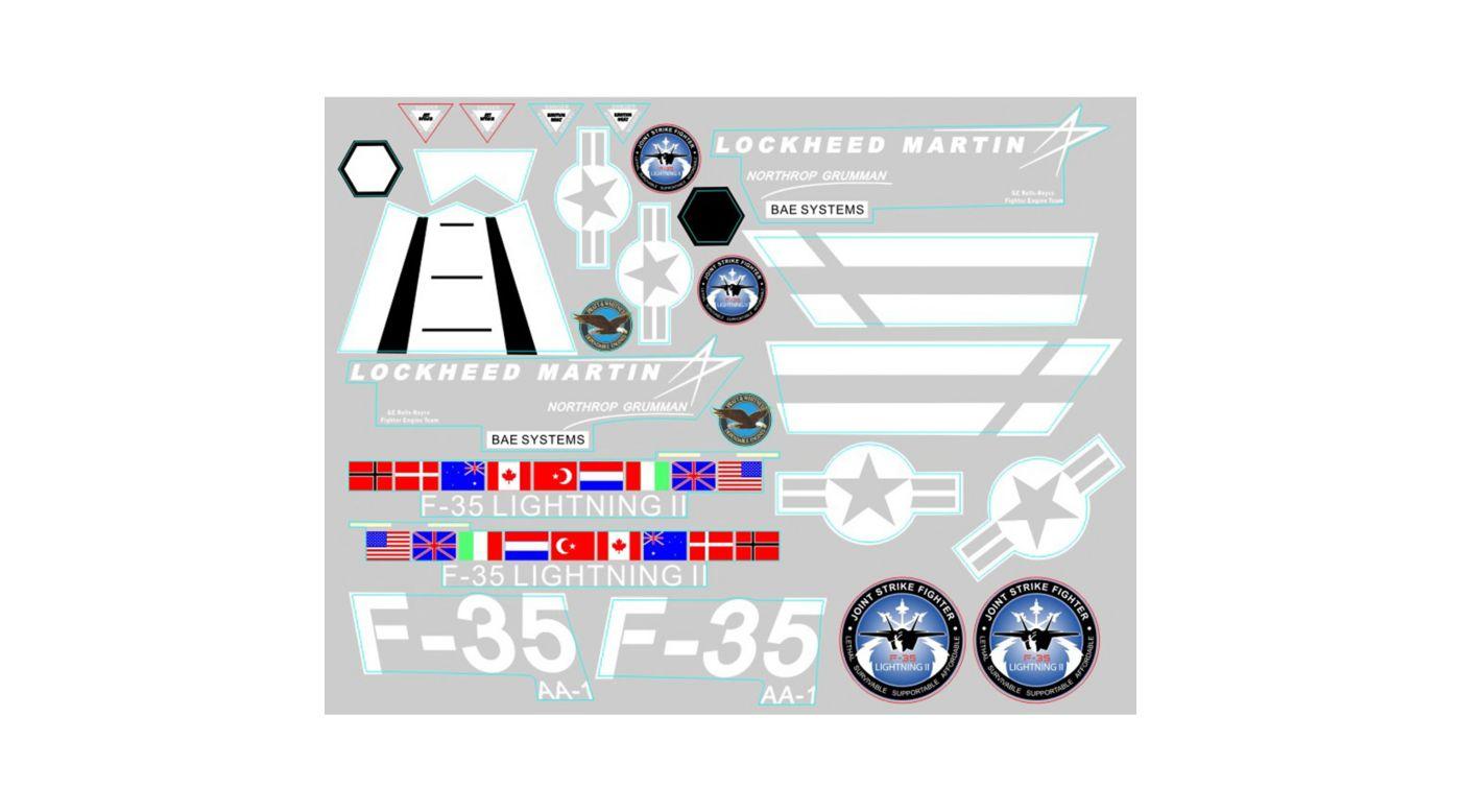 Image for Decal Sheet: F35 V2 from HorizonHobby