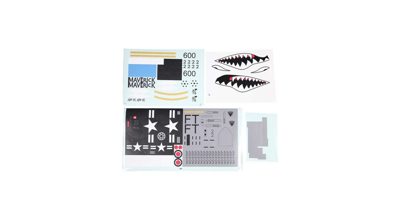 Image for Decal Sheet:  A-10 1500mm from HorizonHobby