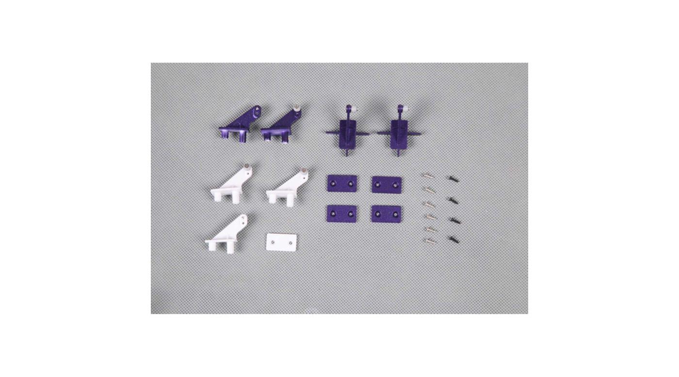 Image for Control Horns: Futura 1060mm Purple from HorizonHobby