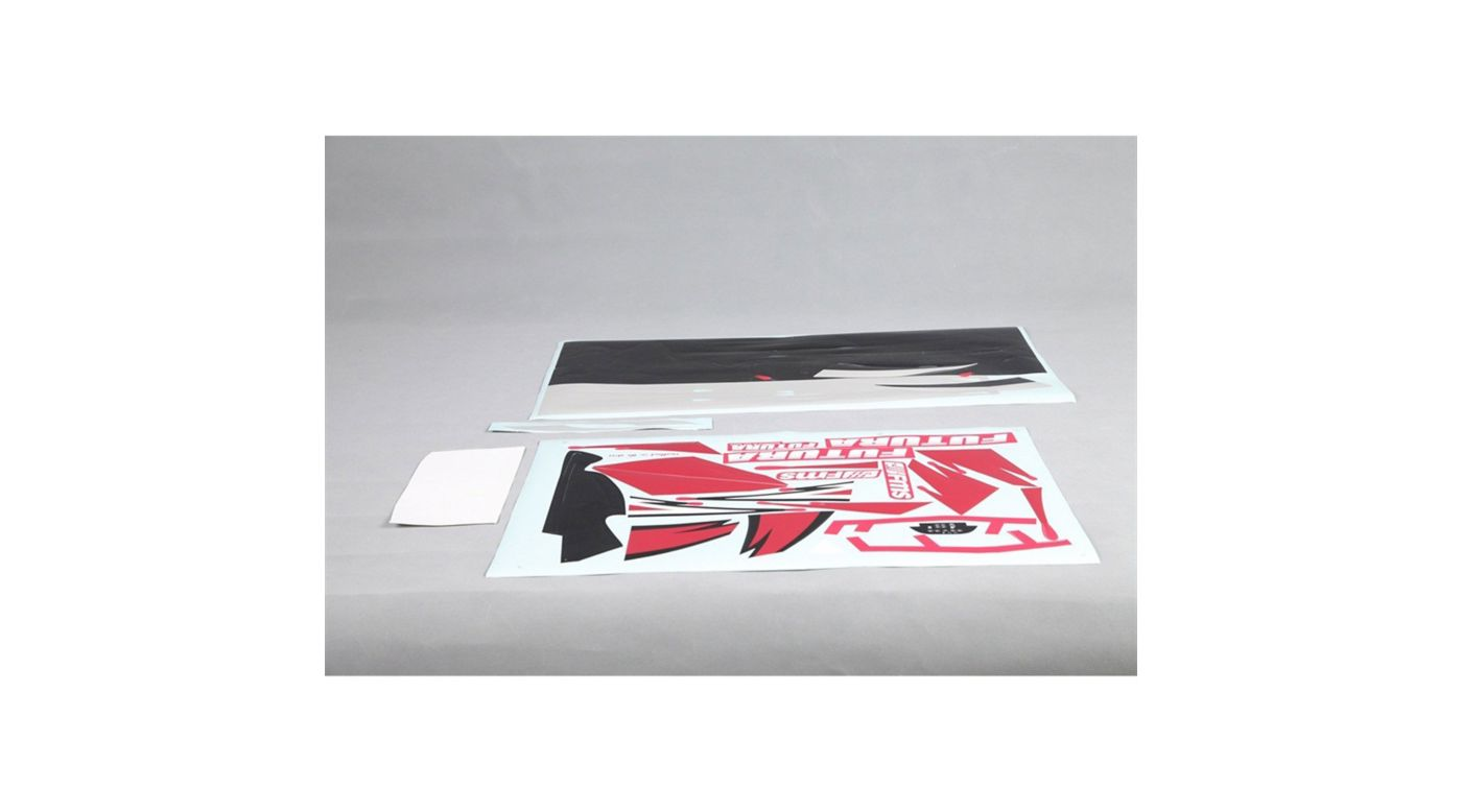 Image for Decal Sheet: Futura 1060mm from HorizonHobby