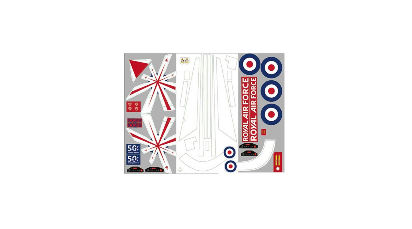 Image for Decal Sheet: Red Arrow 80mm from HorizonHobby