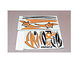 FMS - Decal Set: Fox EP Glider, 3000mm