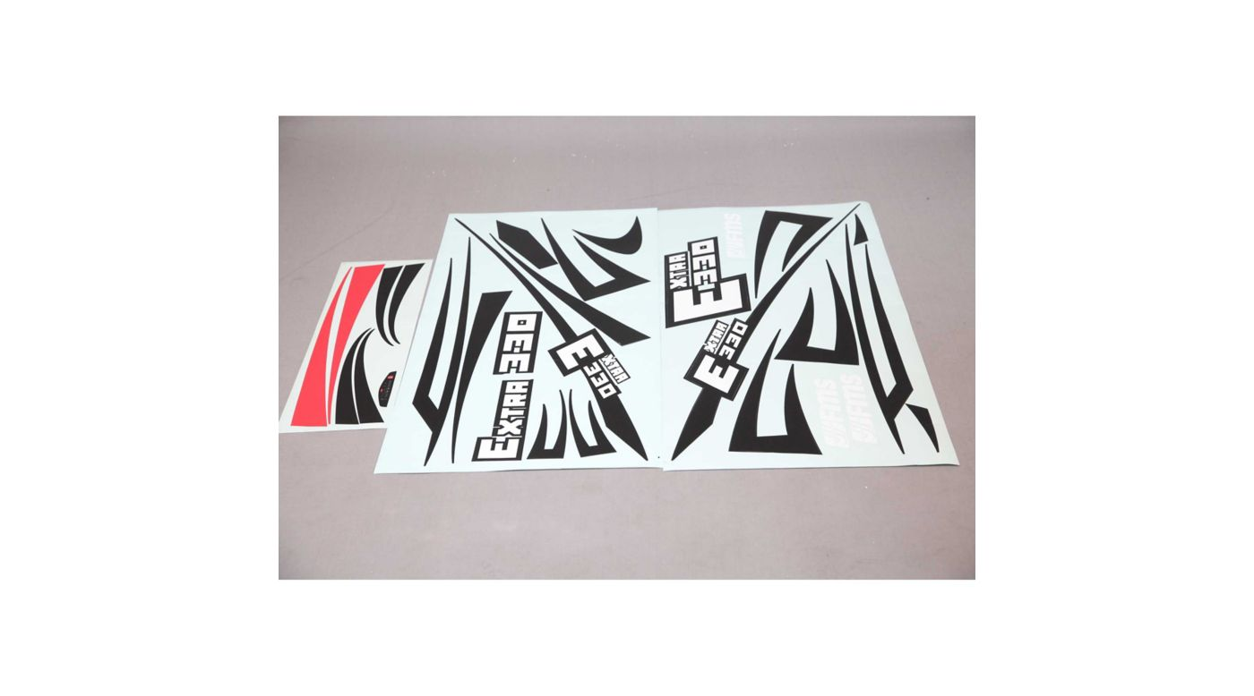Image for Decal Sheet: Extra 330S EP Aerobatic 2000mm from HorizonHobby