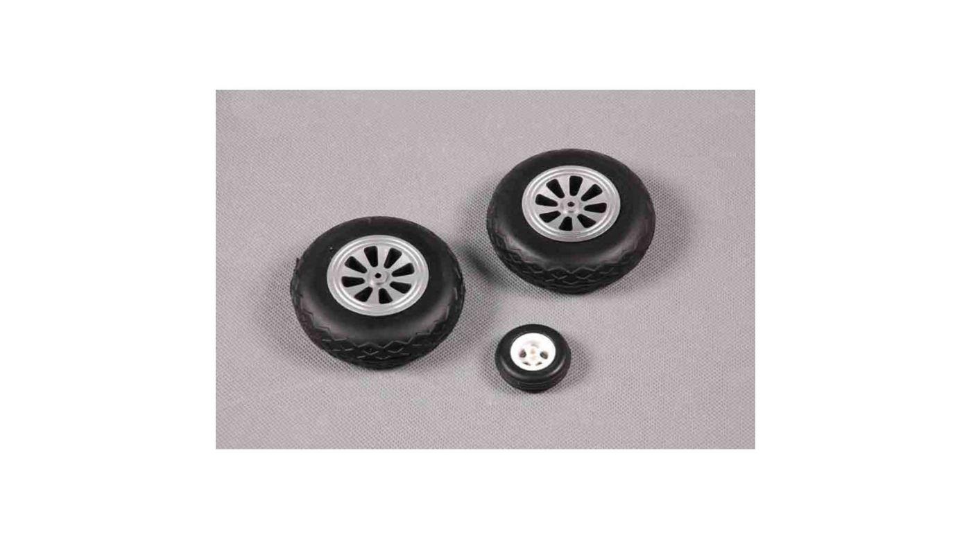 Image for Tire Set  P51D 1400mm V7 from HorizonHobby