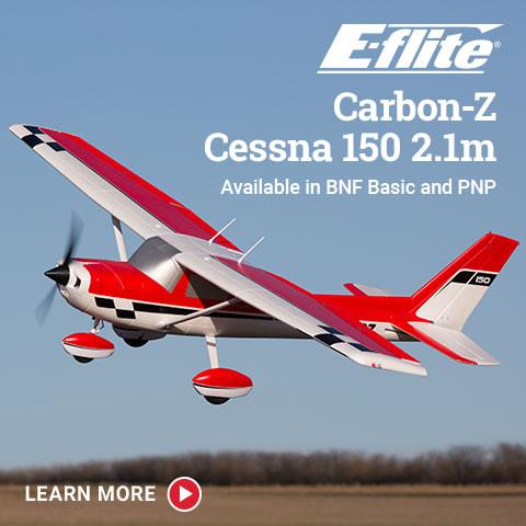 EFL1450/75 E-flite Carbon-Z Cessna 150 2.1m BNF Basic/PNP