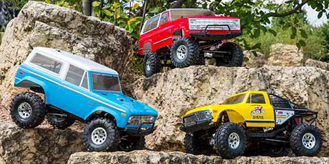 Vaterra Ascender Rock Crawler RTR Crawler Scaler