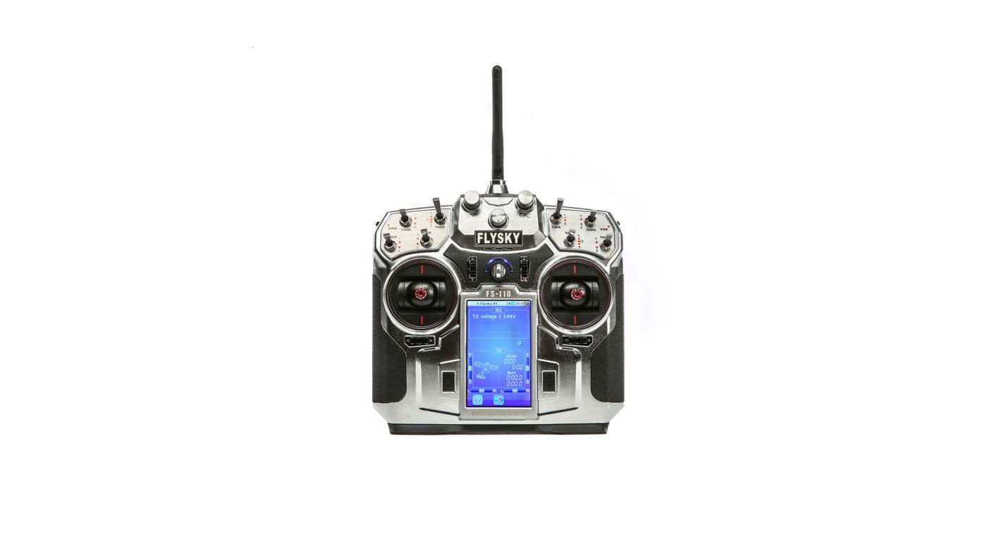 Fs I10 Transmitter And Ia10 Receiver Horizonhobby Precision Battery Low Voltage Alarm Image For From