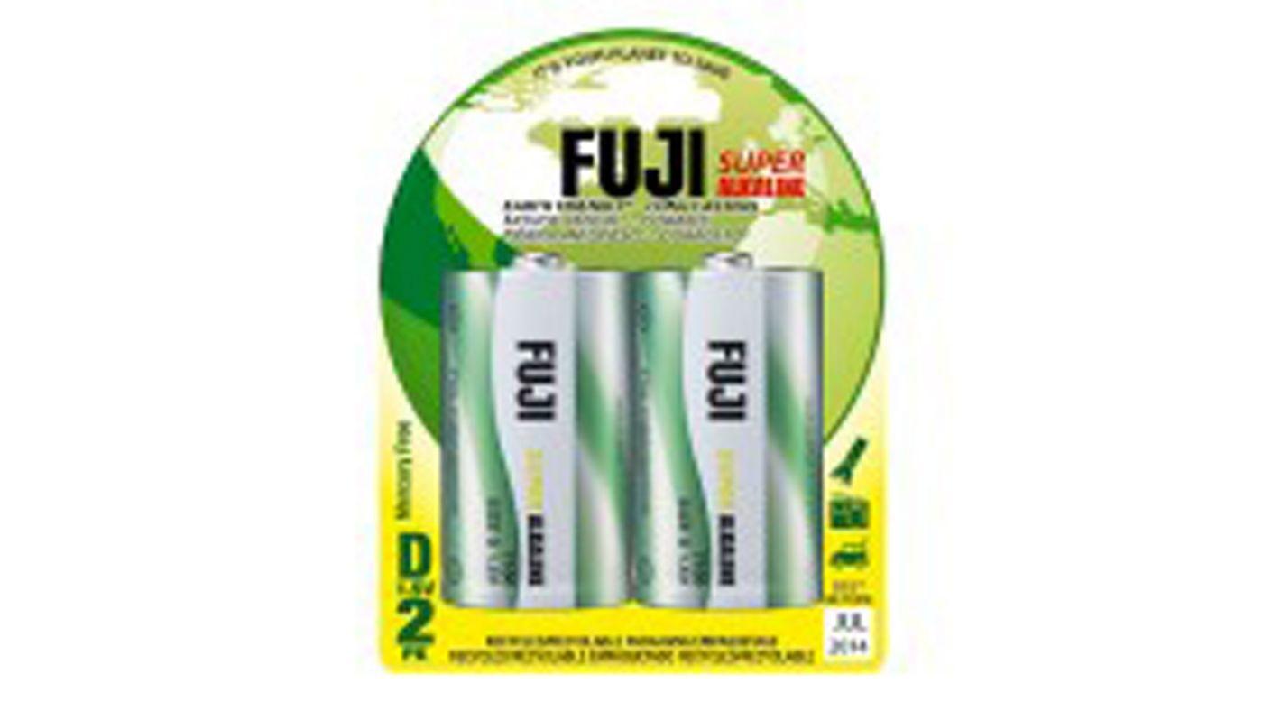 Image for D Alkaline Battery (2) from HorizonHobby
