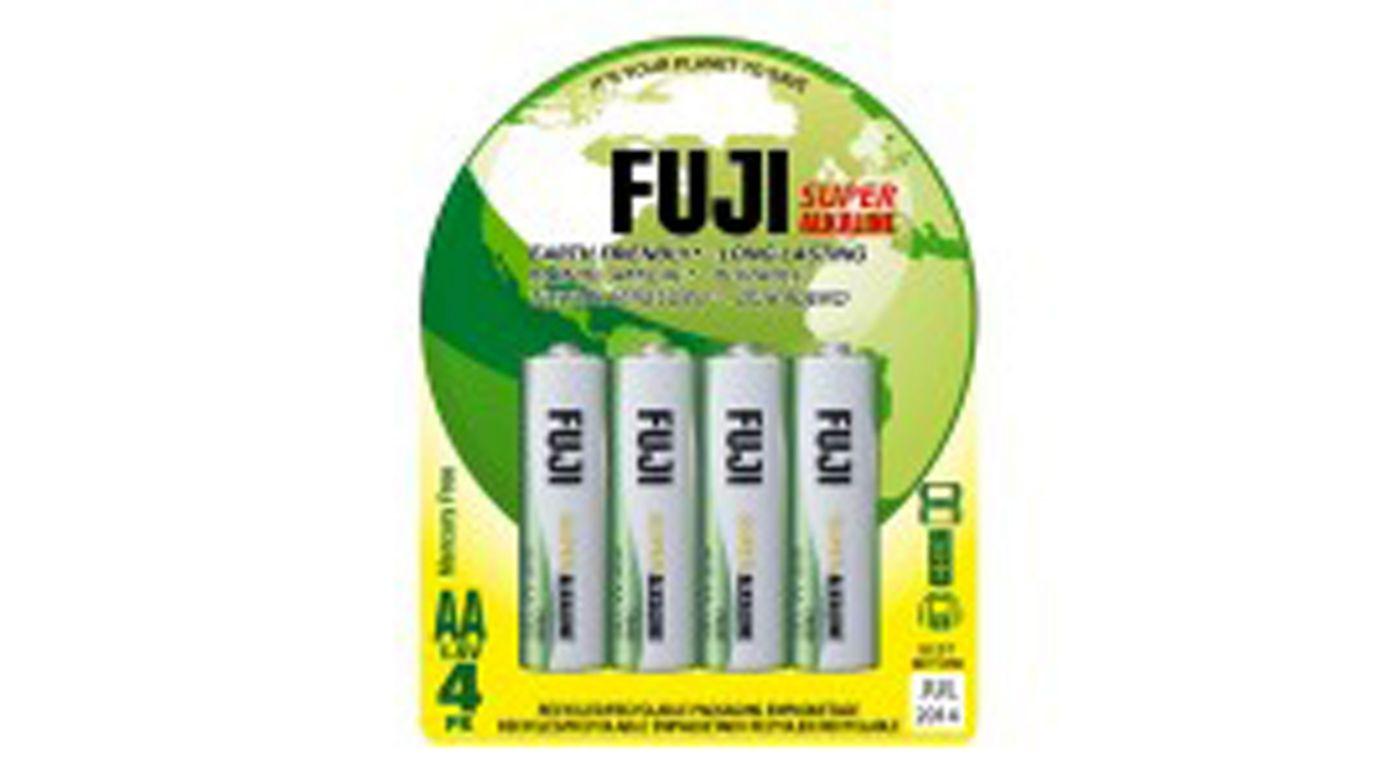 Image for Fuji AA Alkaline Battery (4) from HorizonHobby