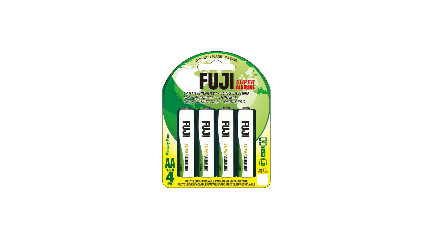 Image for Fuji AA Alkaline Battery (4) from HorizonHobby