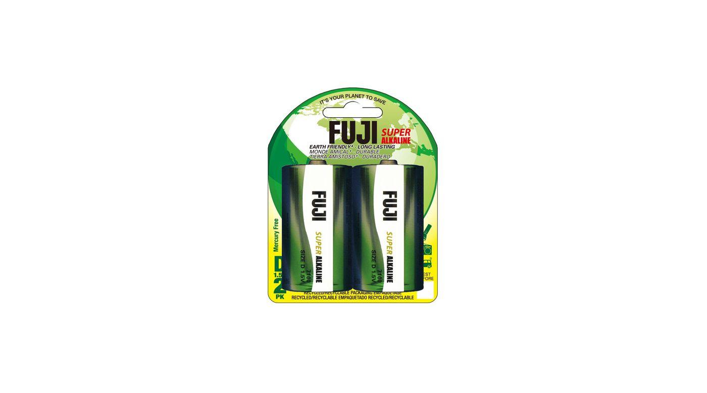 Image for Fuji D Alkaline Battery (2) from HorizonHobby