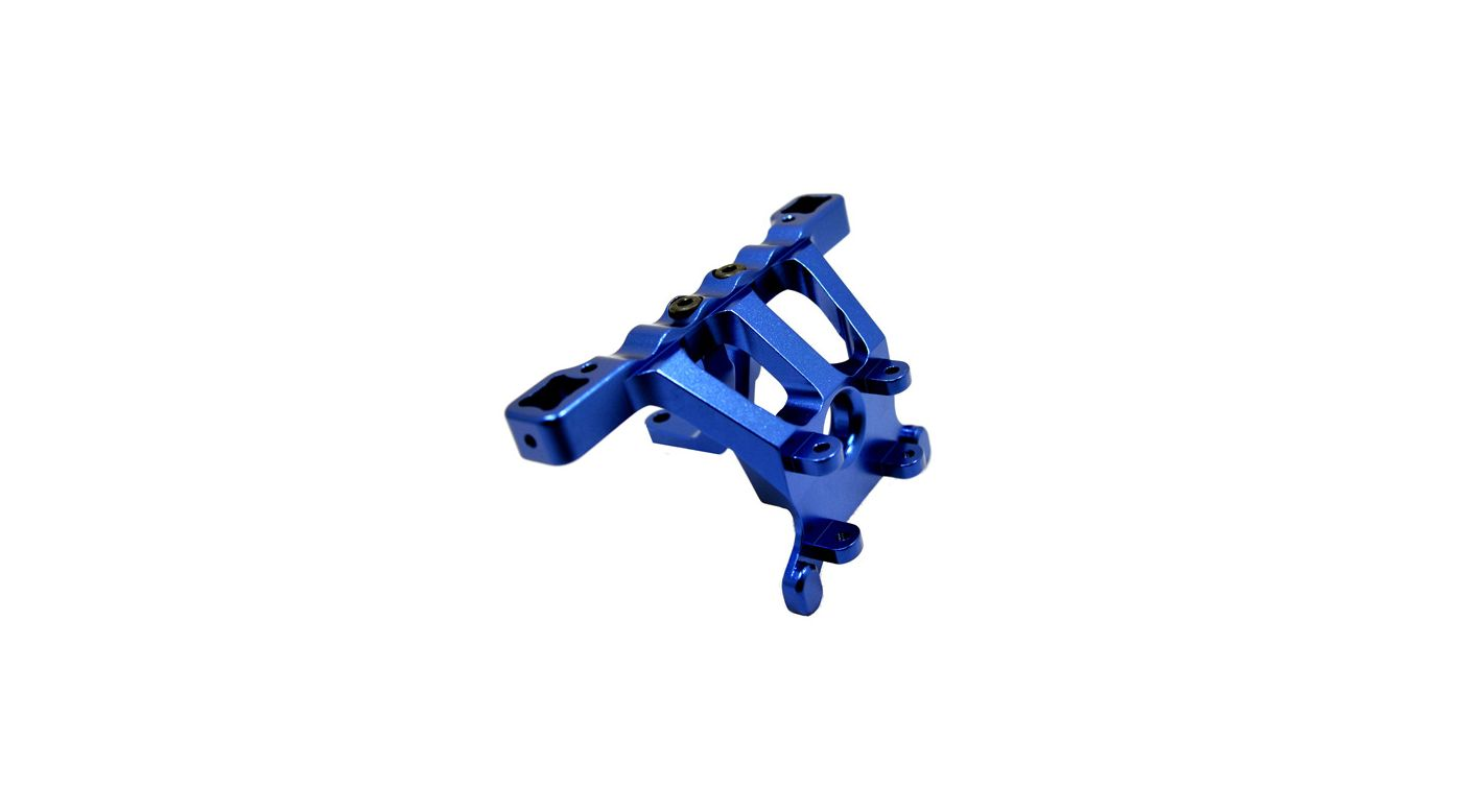 Image for Front Shock Tower, Blue: Revo, ERV, SLY from HorizonHobby