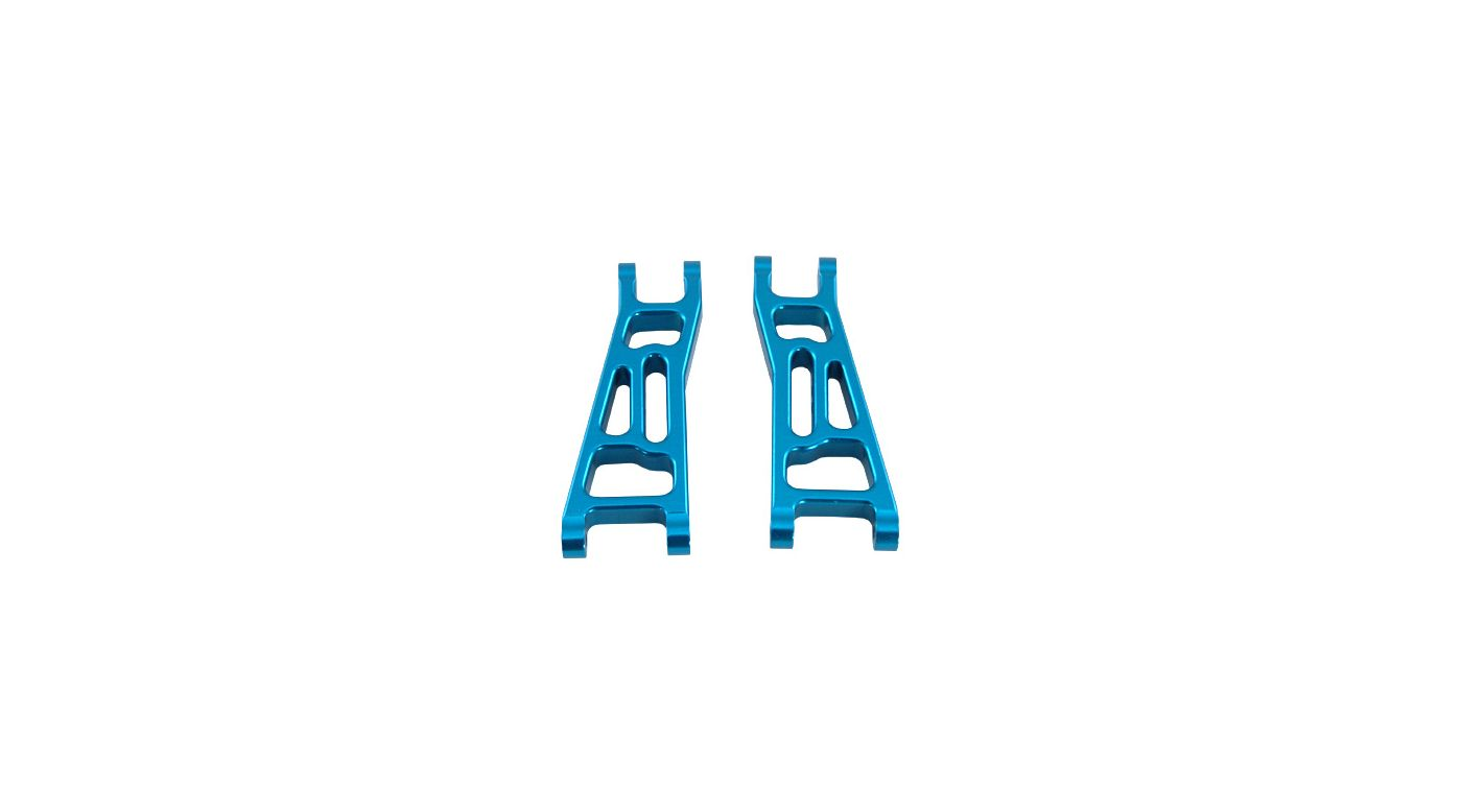 Image for Aluminum Front Suspension Arms, Blue (2): Mini-T from HorizonHobby