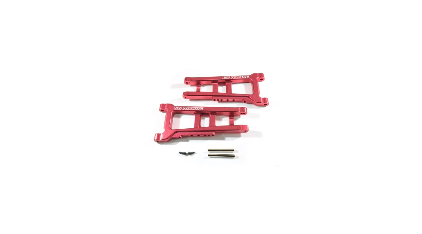 Image for Front Lower Arm, Red: Slash 4x4 from HorizonHobby