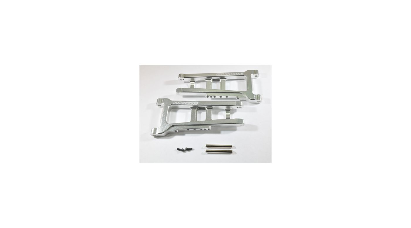 Image for Front Lower Arm, Silver: Slash 4x4 from HorizonHobby