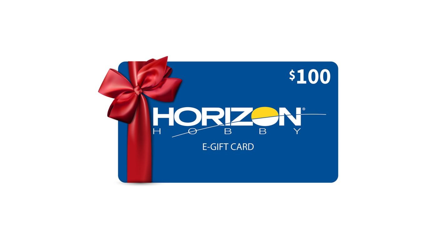 Image for $100 eGift Card from HorizonHobby